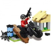 Emob 93 Pcs Player Battleground Mission Theme 3D Bricks Block Set Building Toy for Kids (Multicolor)