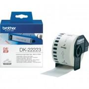 Brother Czarny nadruk na białym tle Etykiety DK-22223