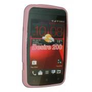 Силиконов гръб ТПУ за HTC Desire 200 Розов