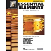 Essential Elements for Band - Percussion/Keyboard Percussion Book 1 with Eei, Paperback