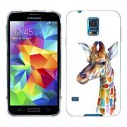 Husa Samsung Galaxy S5 Mini G800F Silicon Gel Tpu Model Girafa Colorata