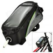 """ROSWHEEL 12496S-G5 4.2 """"Bike Bag w / 3?5 mm para auriculares Hole - Negro"""