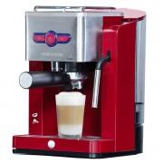 Espressor manual Oursson EM1900/DC, 900W, 19 bari, Sistem de spumare, Rosu