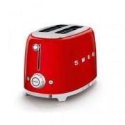 SMEG Tostapane 2x2 50's Style Rosso Tsf01rdeu