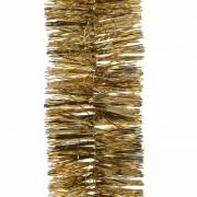 Geen 2x Kerstboom folie slinger goud 270 cm