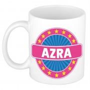 Bellatio Decorations Voornaam Azra koffie/thee mok of beker