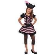 Costum pirat fetita 8-10 ani