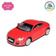 Smiles Creation KT5335D Kinsmart 1:32 Scale 2008 Audi Tt Coupe Toy, Red