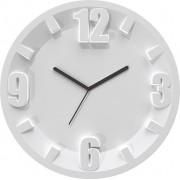 Guzzini Zegar ścienny 3-6-9-12 szary