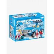 9281 Carro de Neve, da Playmobil azul medio liso com motivo