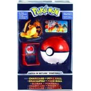 Pokemon Trainers Choice Catch N Return Charizard + Poke Ball