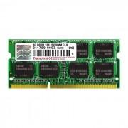 Transcend Memorija za prijenosna računala DDR3 8GB 1333MHz, TS1GSK64V3H