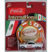 Johnny Lightning Coca Cola International Collection White 1962 Chevy Bel Air