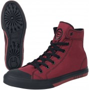 R.E.D. by EMP Walk The Line Sneakers rood