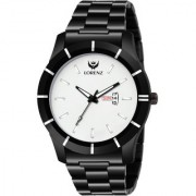 Lorenz Analogue White Dial Day & Date Watch for Men- 2011W