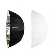 ELINCHROM Kit 2 Guarda-chuvas Deep Prata/Trans 105cm
