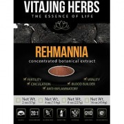 Rehmannia Powder Extract ???20:1 CONCENTRATION??? (Chinese Foxglove) (4oz - 114gm) - 100% PURE Powder NO Binders Fillers or Additives! Yin Jing Recovery Herb