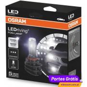 Osram LED Ledriving Fog Lamp H10 - 9645CW 6.000K (2 lâmpadas)