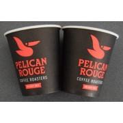 Pahare Pelican Rouge carton automate 8 oz 50 buc