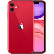 Apple Iphone 11 128GB piros, kártyafüggetlen, Gyártói garancia