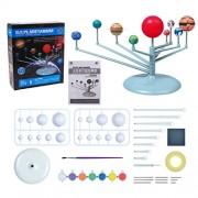 Jenil International Science Kit DIY Glow In The Dark Solar System Planetarium Model Kits For Kids