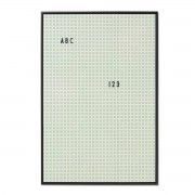 Design Letters - Message Board A2, grün