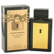 Antonio Banderas The Golden Secret Eau De Toilette Spray 3.4 oz / 100.55 mL Men's Fragrance 498255