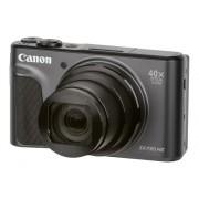 Canon Cámara Compacta CANON SX730 HS (Negro - 20.3 MP - ISO: auto a 3200 - Zoom Óptico: 40x)