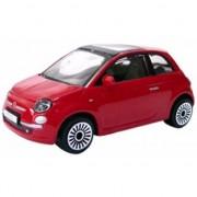 Bburago Schaalmodel Fiat 500 1:43 Rood