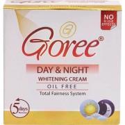 GOREE DAY NIGHT WHITENING CREAM PACK OF 12 Pcs. (OIL FREE).