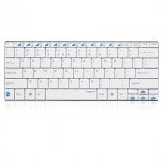 KBD, Rapoo E6100, Wireless, Bluetooth, White