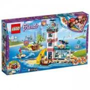 Конструктор Лего Френдс - Спасителен център във фара, LEGO Friends, 41380