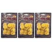 Geen Piraten munten goud 195 stuks