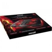 Охладител за геймърски лаптоп MAXELL Samurai CA-CL-9, 4 вентилатора, USB hub, Черен