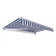 Tenda plavo-bela 295 x 250 cm