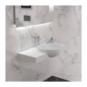 Distribain Plan vasque solid surface Réf : SDK2