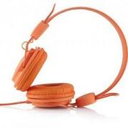 Слушалки с микрофон Modecom MC-400 FRUITY, Оранжеви, MDC00017