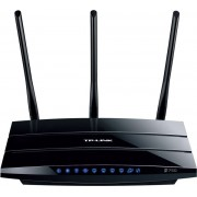 Router Wireless TP-LINK TL-WDR4300, 300 + 450 Mbps, DualBand, Gigabit, 2 x USB 2.0, Antene detasabile