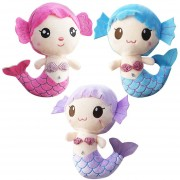 EB Peluches Regalo Para Bebé Niños Niñas Niños Cute Adorable Muñeco De Sirena - Rosa