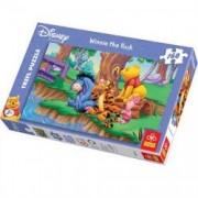 Puzzle 160 pcs Winnie si prietenii pe malul lacului 15113 Trefl