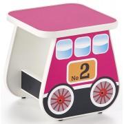Producent: Elior Taboret dziewczęcy wagonik Milo 4X - różowy