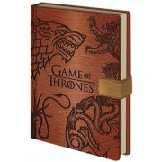MagicBox Zápisník Game of Thrones - Sigils (A5)