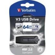 USB Flash Drive Verbatim Store n Go V3 3.0 64GB Black