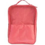 JOFIX Waterproof Travelling Shoe Storage Bag Footwear Organizer Pouch for Men and Women Travel Toiletry Kit(Orange)