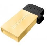 Transcend JetFlash 380 OTG 32 GB OTG Drive(Gold, Type A to Micro USB)