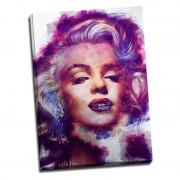 Tablou Marilyn Monroe printat pe aluminiu