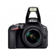 Digitale spiegelreflexcamera Nikon D5600 Kit Incl. AF-P 18-55 mm VR 24.2 Mpix Zwart WiFi, Full-HD video-opname
