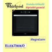 Whirlpool AKZM 8480 NB beépíthető sütő, A+ energiaosztály , fekete, 6. érzék