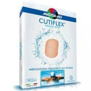 Pietrasanta Pharma Spa Master Aid Cutiflex Acqua Stop - Medicazioni Resistenti All'Acqua 5 Medicazioni Formato 14x14 Cm