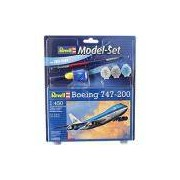 Réplica Model - Set Boeing 747-200 - Revell